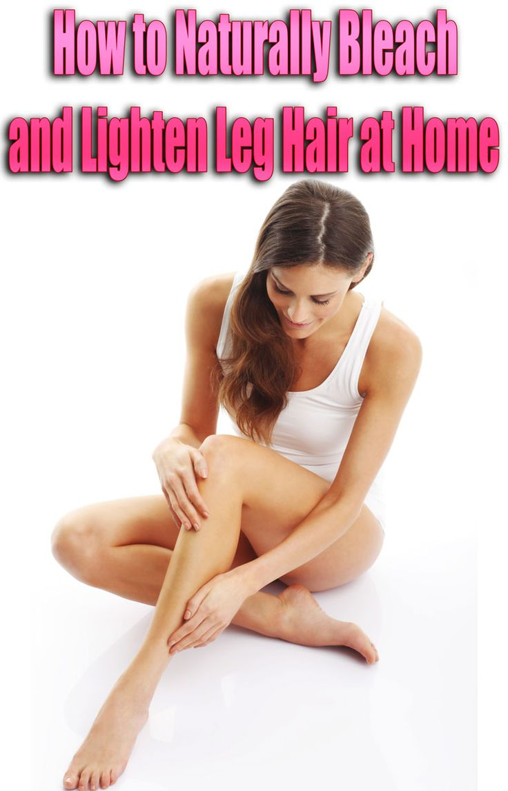 Lightening leg hair is a natural, painless and inexpensive way of making it softer and less noticeable. It also helps to make hair softer and get rid of it with time. Some of these methods even help to slow down leg hair growth. Here is how to lighten leg hair at home, naturally. #LegHair #beauty