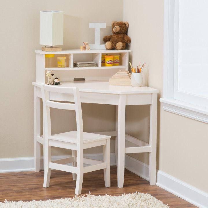 Small White Kids Desk Space Saving Desk Ideas Check More At Http Samopovar Com Small White Kids Desk Bes Kids Corner Desk Diy Corner Desk Small Corner Desk