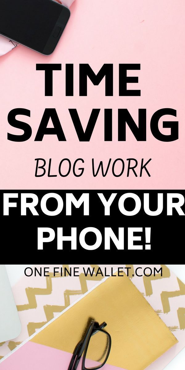 Time saving blogging tasks you can do from your smartphone – Lana |Beauty, Fitness & Mommin