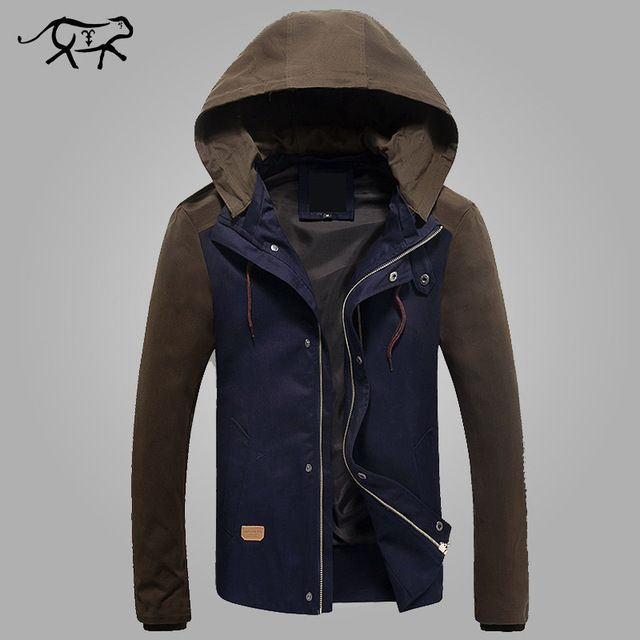 Good price New Brand Clothing Mens Jackets And Coats Male Outwearing Jacket Men's Hooded Coat Casual Anorak Jaqueta Masculina Manteau Homme just only $27.26 - 28.42 with free shipping worldwide  #jacketscoatsformen Plese click on picture to see our special price for you