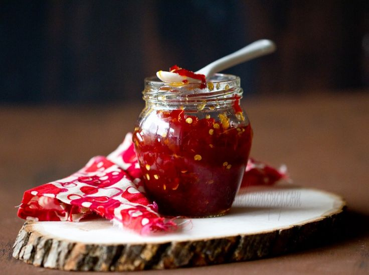 Sweet and Spicy Chili Pepper Jam