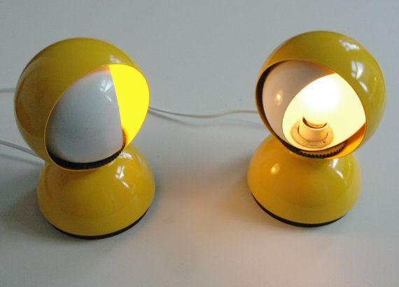 Set of 2 Artemide Eclisse lights by Vico by ICONICLIGHTS on Etsy, €170.00