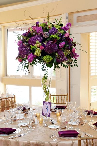 Love this!!! Wedding Color Purple - Purple Wedding Ideas | Wedding Planning, Ideas & Etiquette | Bridal Guide Magazine
