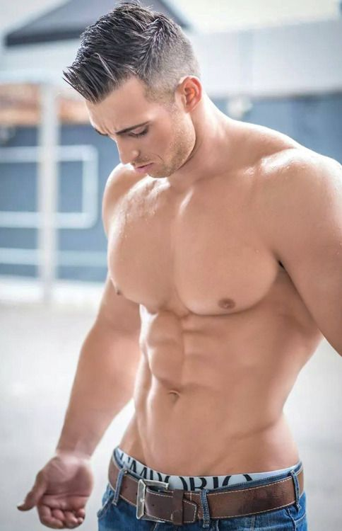 WOW  !!!  GORGEOUS YOUNG MAN WELL ON HIS WAY TO PERFECTION - AND NO TATS