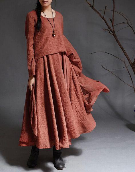 Women Long Sleeve Maxi Dress from MissJuan by DaWanda.com