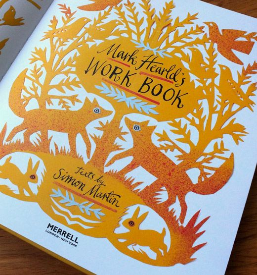 Published by Merrell on 5th October 2012, Mark Hearld's Work Book explores the work of this prolific artist.
