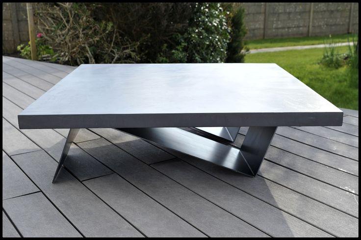 1000 ideas about table basse b ton cir on pinterest. Black Bedroom Furniture Sets. Home Design Ideas