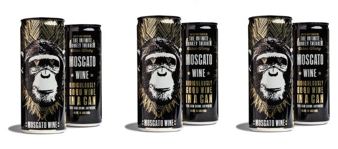 Drink Spotlight: The Infinite Monkey Theorem Moscato Wine in a Can | TrendMonitor