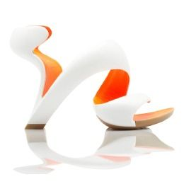 Mojito Shoe Classic-White and Orange - 870029