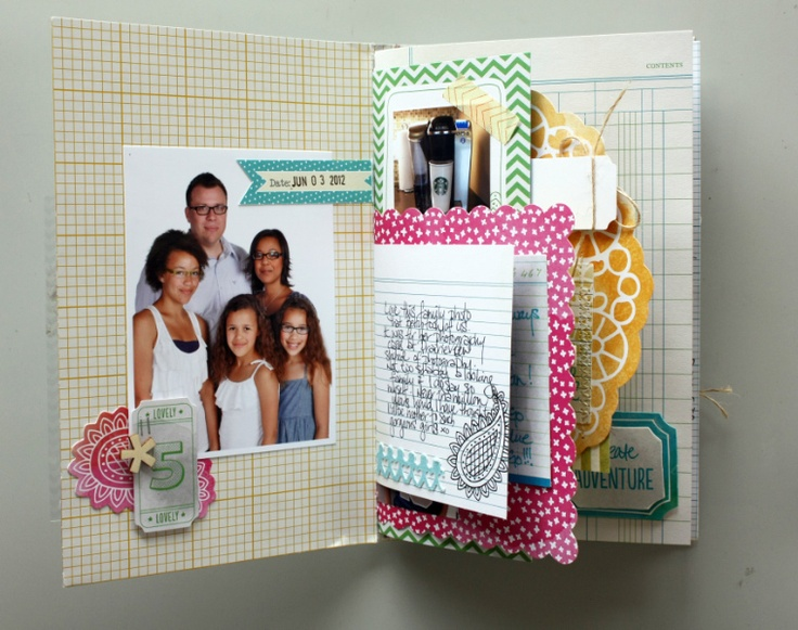 Sherri Funk for Let's Capture Our Memories: Amy Tangerine Day Book