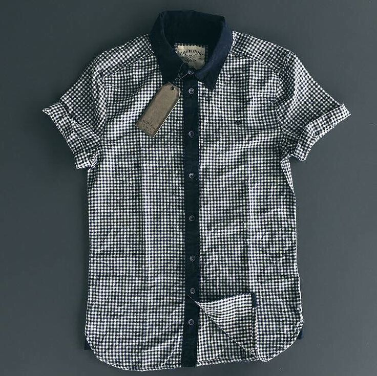 Just received a re-stock of the gingham shirt by Sergeant Pepper. Available in store and online now #lovewarrior #spcc #shoponline #menswear #comefindus