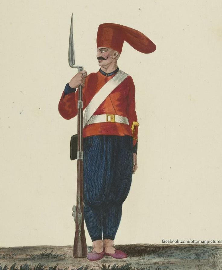 OTTOMAN SOLDIER Osmanlı Askeri
