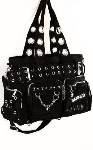 Handcuff Handbag Black