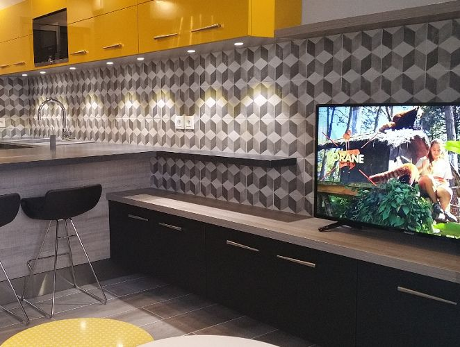 meuble tv moderne scandinave nice