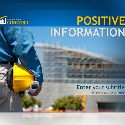 PowerPoint Template for Construction Company Website