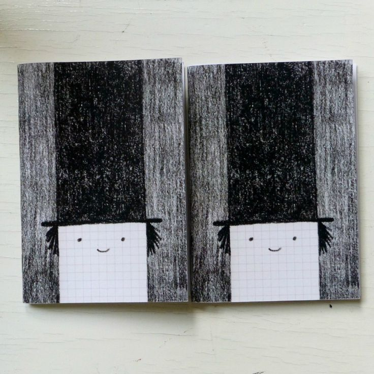 Look, Mr Chapo is back, this time in the form of a small (A6) notebook.Mélaminebonnemine's quirky illustrations make us smile, we love her fun-filled world.Each little black and white notebook cover is printed in France on   glossy paper (280g - 15 x 10.5 cm)). The book is stapled together and contains 40 blank pages (white recycled paper 80g).A sweet idea for party favours and stocking fillers.