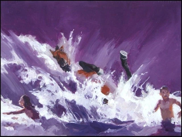 Helen Verhoeven, 'The incident at Pebble Beach'