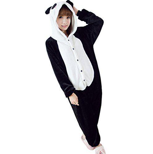 Ferrand Kigurumi Pyjamas Unisexe Adulte Costume Cosplay Animaux Onesie Panda Noir S Molly http://www.amazon.fr/dp/B00DC5RV4I/ref=cm_sw_r_pi_dp_s6iGwb0EM71NZ