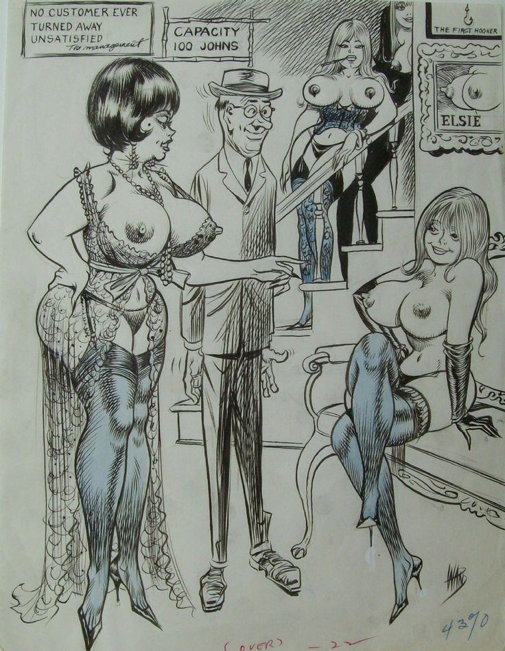 Erotic toons bill ward