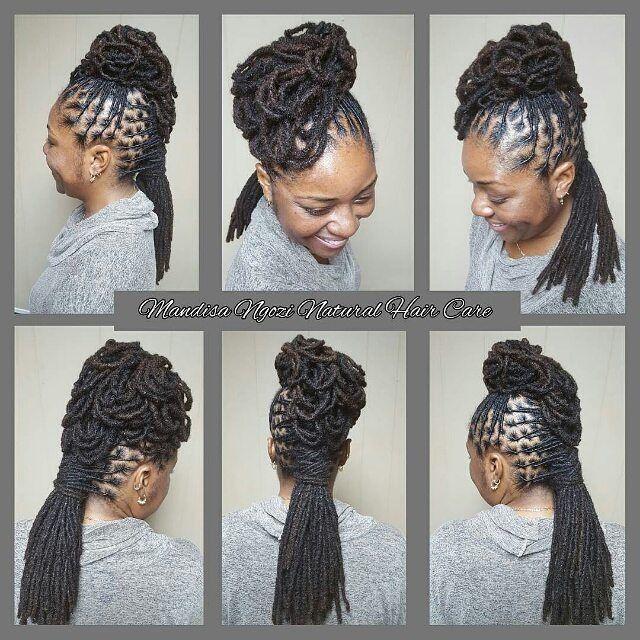 Loc Hairstyles 2030 Best Loc Styles Images On Pinterest  Dreadlock Styles