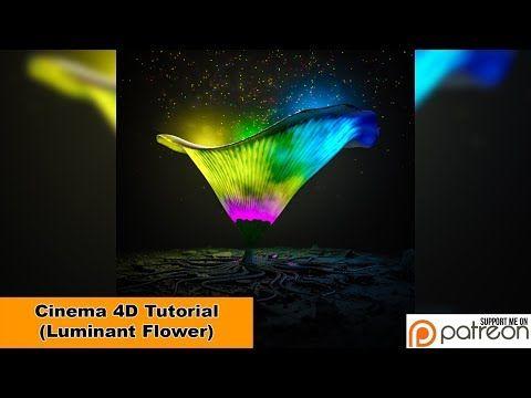 Luminant Flower (Cinema 4D Tutorial) - YouTube