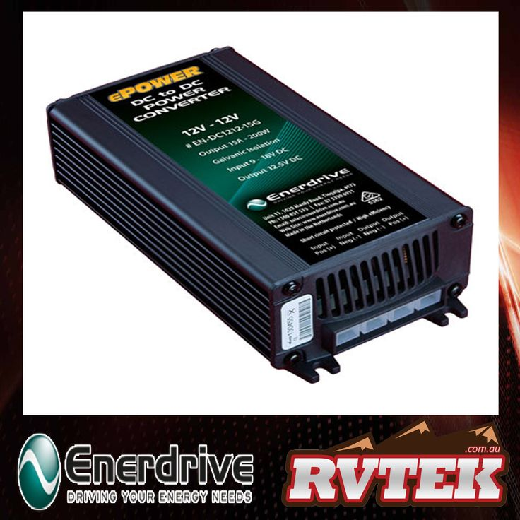 ENERDRIVE ePOWER DC TO DC CONVERTER POWER SUPPLY 12V-12V 15A GALVANIC ISOLATION