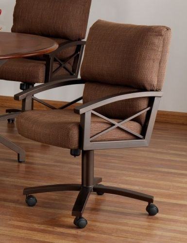 Tempo Amsterdam Swivel Tilt Caster Chair Available At Www