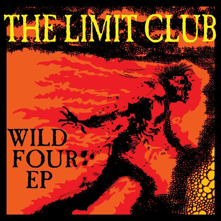 The Limit Club Wild Four EP Cover