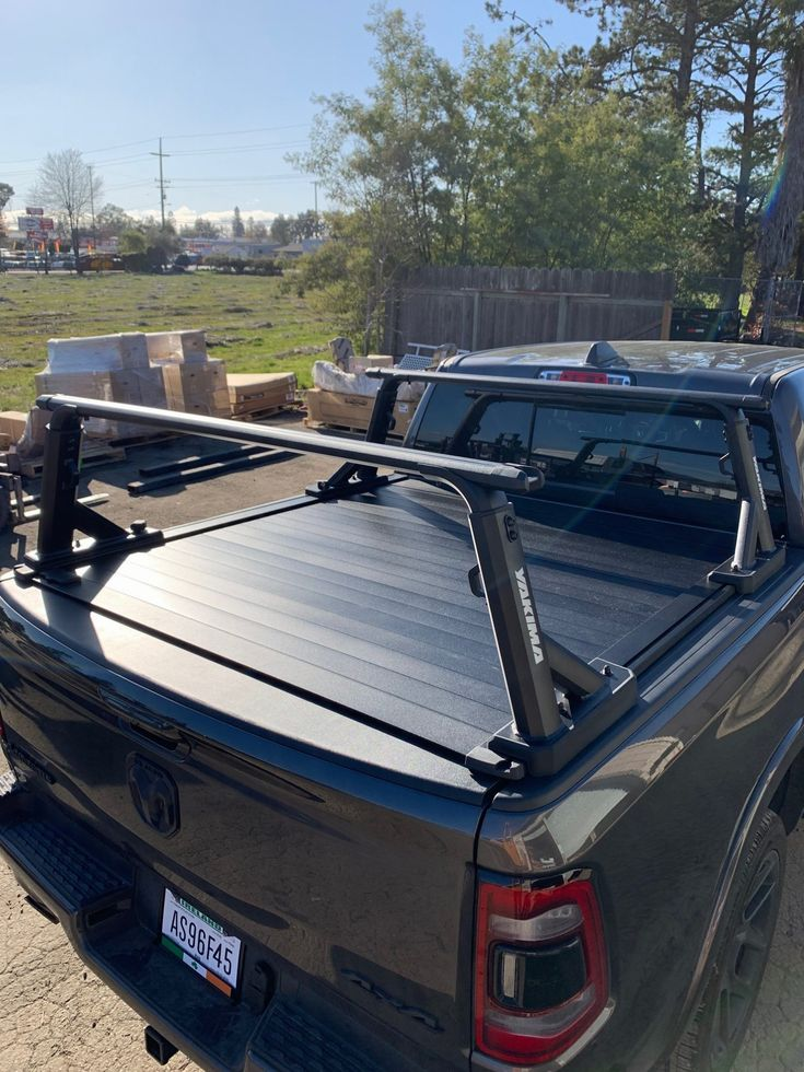 Our Most Popular Tonneau Cover and Truck Rack Package