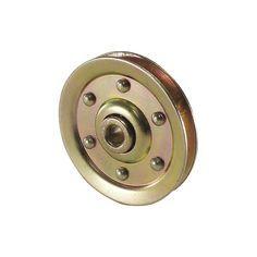 DIY Barn Door hardware- AMERICAN GARAGE DOOR Cable Pulley,3 In.,PK2 - Hanging Door Hardware - 5MVF4|SP300 - Grainger Industrial Supply