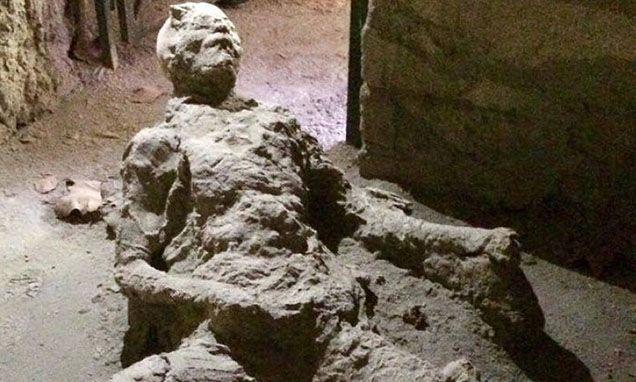 Did This Pompeii Volcano Victim Die Masturbating?