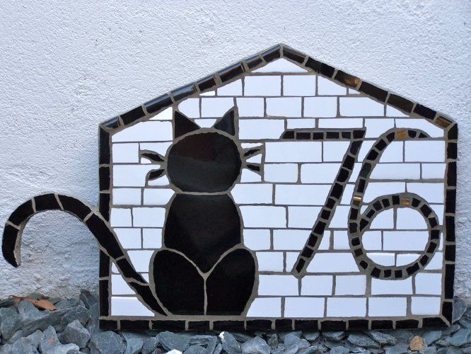 Cat house sign - private collection