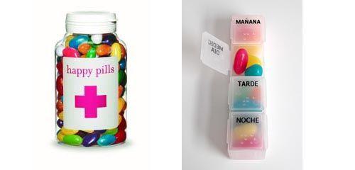 Jelly beans as happy pills - teachers gift
