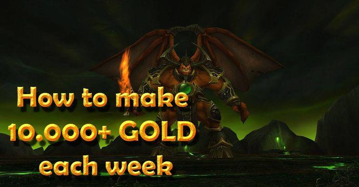 How To Make 10.000  GOLD Each Week WoD 6.2