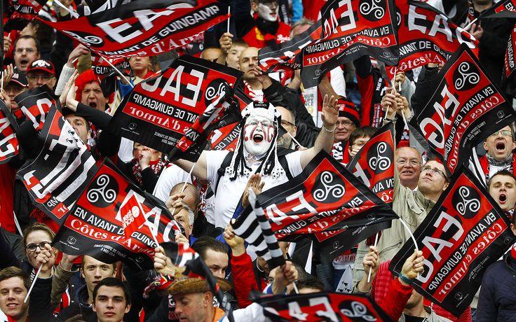 Guingamp Le En Avant fans 9ine Ligue 1