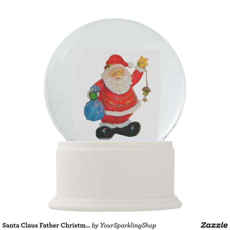 Santa Claus #snowglobe #santa #santaclaus #christmas #christmagift #christmasdecor