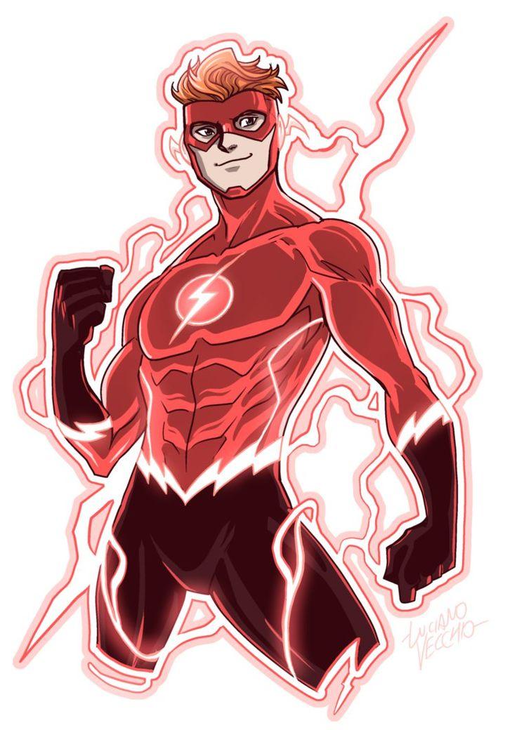 Flash (Wally West) Rebirth by LucianoVecchio.deviantart.com on @DeviantArt