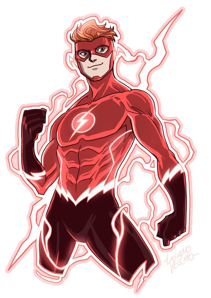 Flash (Wally West) Rebirth by LucianoVecchio.deviantart.com on @DeviantArt