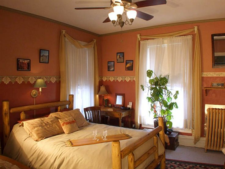 Western rooms living room designs and paint colors on for Western room design