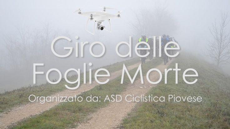 Ripresa di una Corsa Ciclistica Amatoriale - CON DRONE
