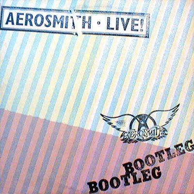Aerosmith Live Bootleg Album 1978