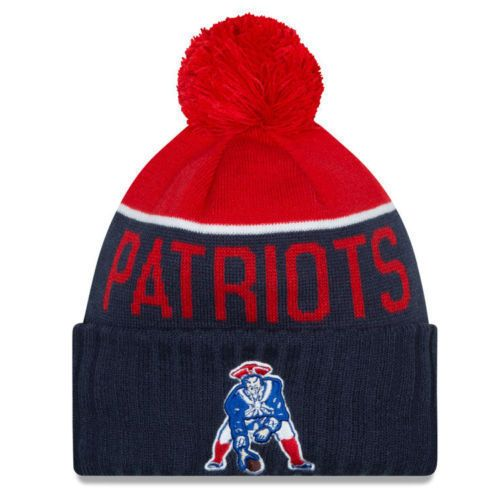 New England Patriots 2015 TOM BRADY New Era Classic Sport Knit Winter Hat Beanie #NewEra #SkiHat #NewEnglandPatriots
