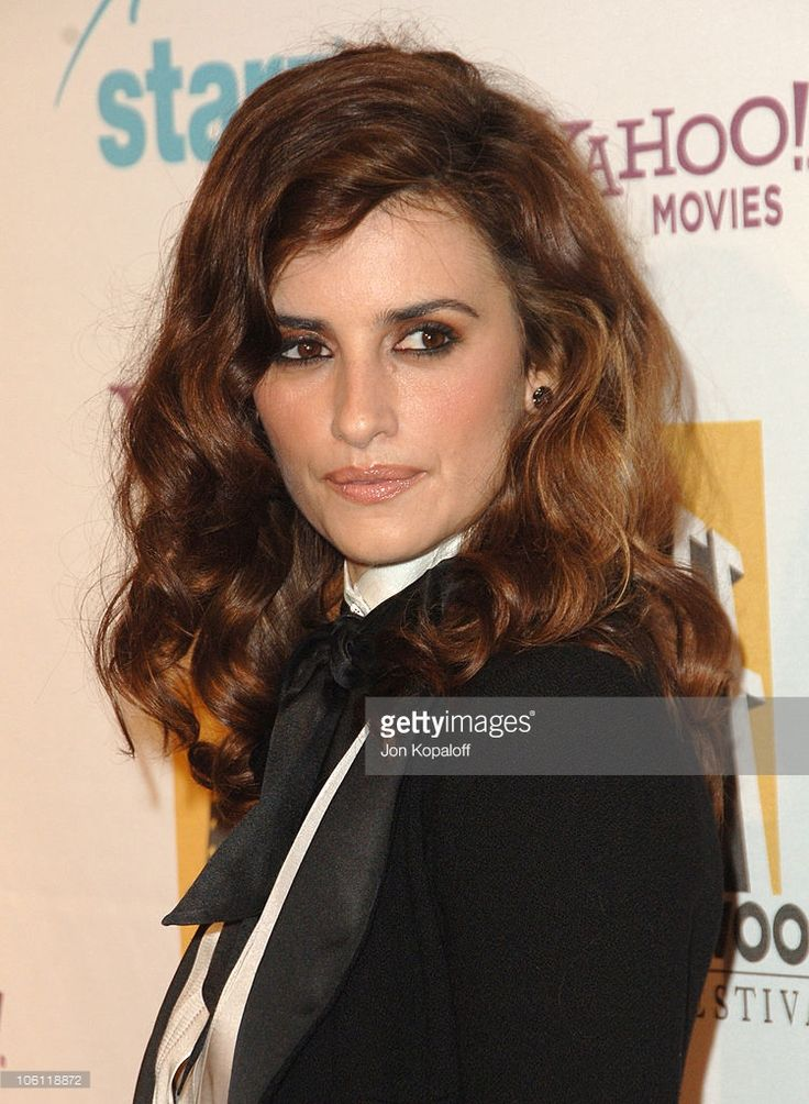 Penelope Cruz during Hollywood Film Festival - 10th Annual Hollywood Awards - Arrivals at Beverly Hilton Hotel in Beverly Hills, California, United States.