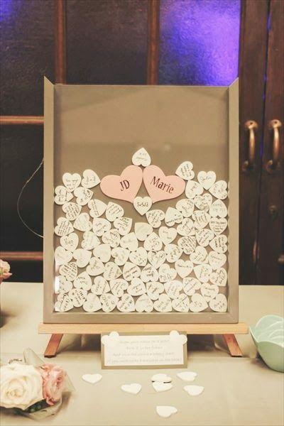 Pequeñas grandes ideas: Un libro de invitados muy romántico. Deseos de Boda