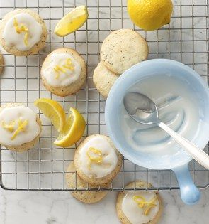 Check out this delicious recipe for Lemon-Poppy Seed Drops from 25 Merry Days at Kroger!