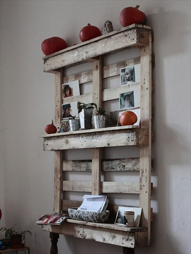 Ideas for Wooden Pallet Crafts: 8 Pallet Furniture: