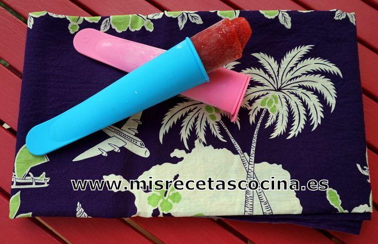 Calipo de Fresa en Thermomix - misrecetascocina