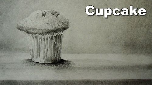 How to draw a cupcake in pencil free textlearn how to drawdrawing lessonsart