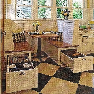 This is just like our camper would love this in my kitchen! Extra storage for larger items!