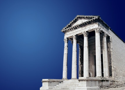 Temple of Augustus... This is not Greece not even Rome! :-) This is Pula